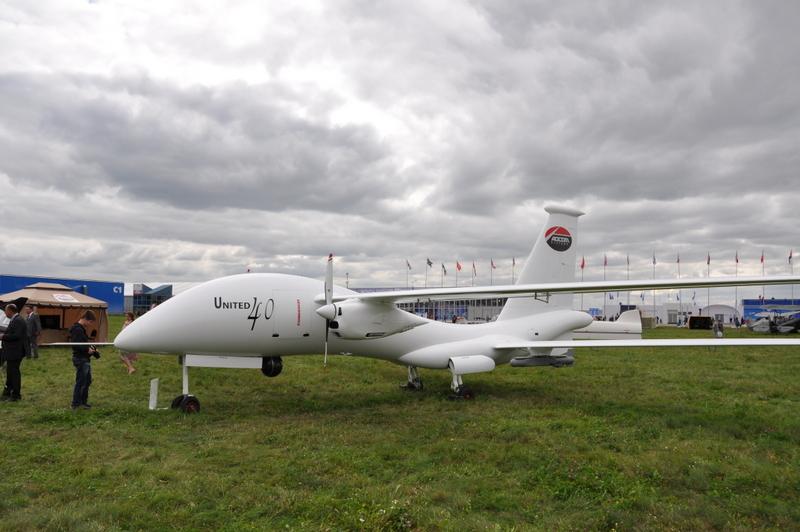 В России начаты испытания эмиратского беспилотного летательного аппарата United 40