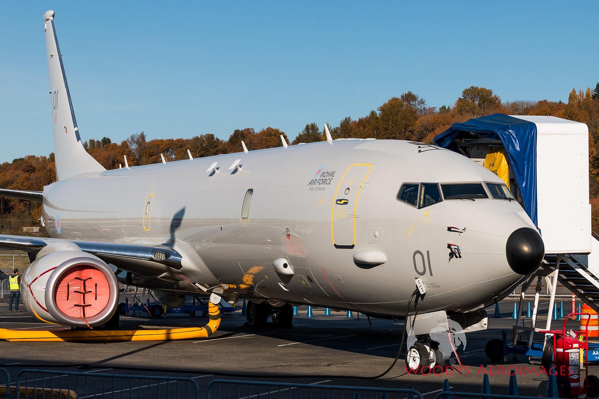 ВВС Великобритании получили первый базовый патрульный самолет Р-8А Poseidon
