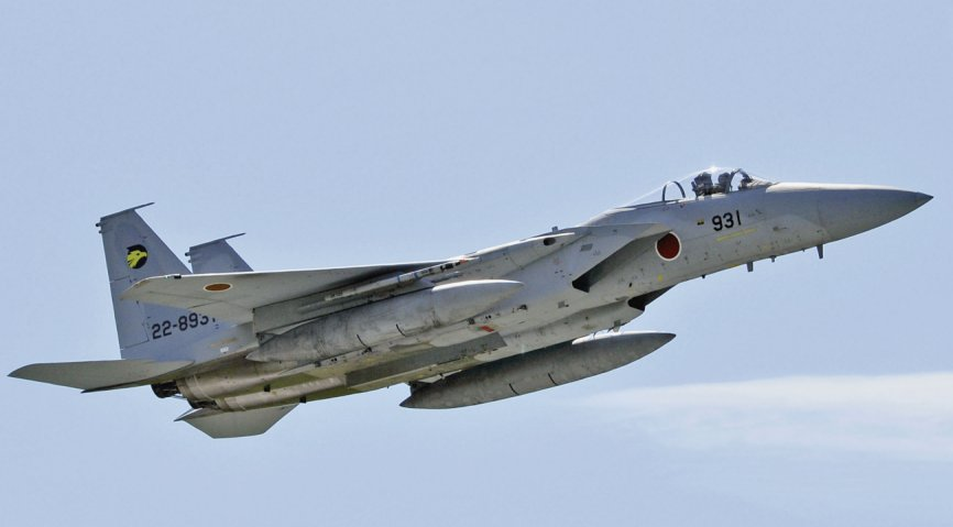 Модернизация истребителей F-15J Сил самообороны Японии
