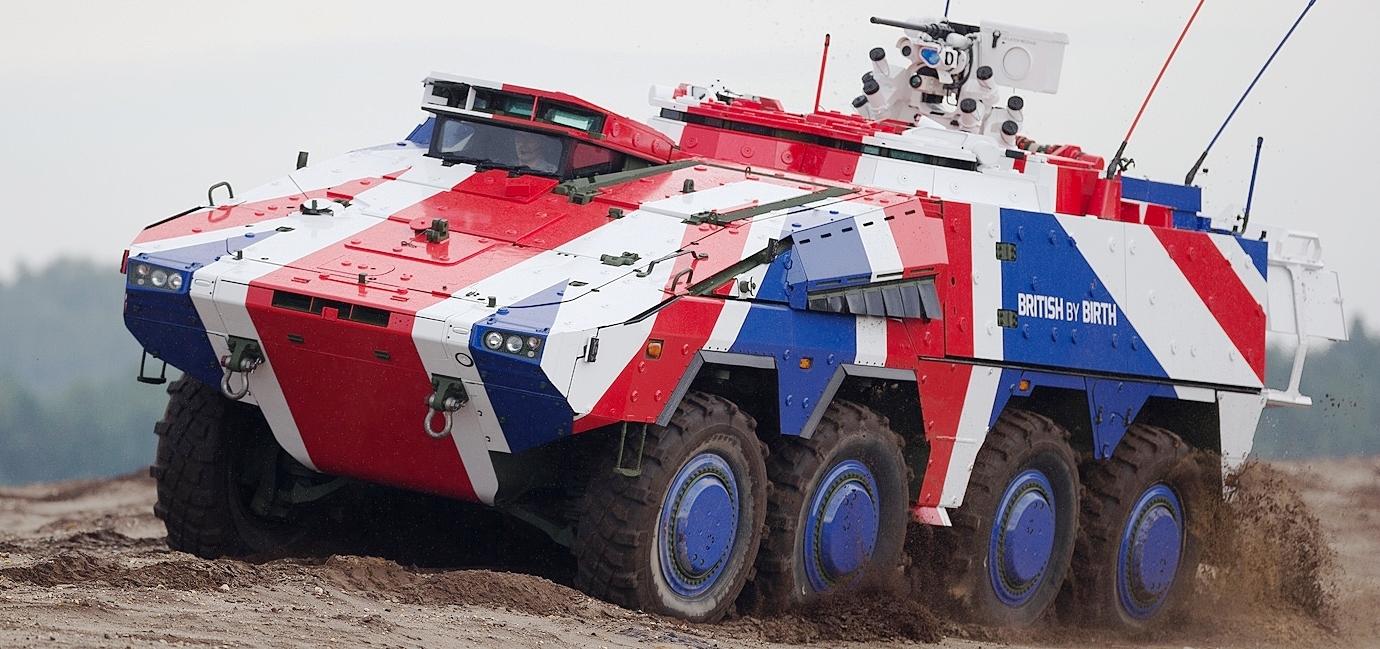 Великобритания закупает бронетранспортеры Boxer
