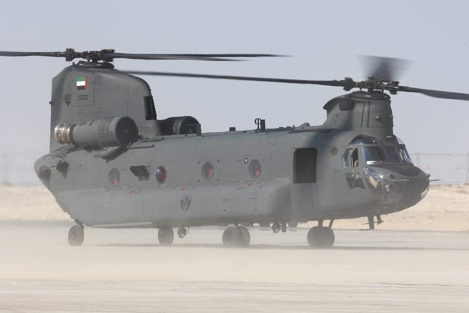 Объединенные Арабские Эмираты получат еще десять вертолетов CH-47F Chinook