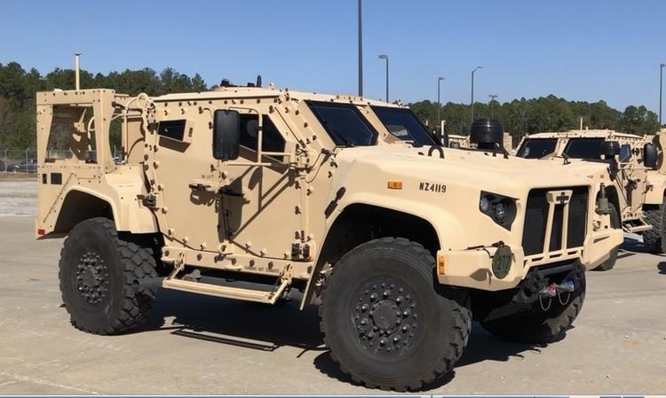 Черногория подписала соглашение о закупке 67 американских бронированных машин JLTV