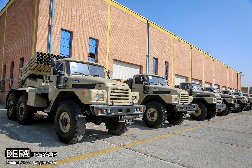 Ремонт и модернизация техники иранской армии