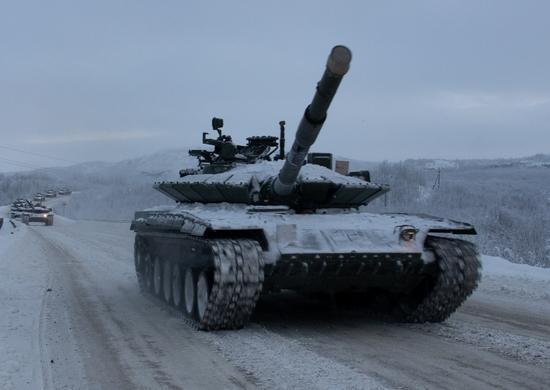 200-я отдельная мотострелковая бригада перевооружена модернизированными танками Т-80БВМ