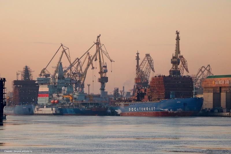 Частные инвесторы профинансируют строительство двух атомных ледоколов проекта Icebr