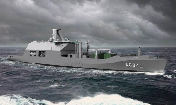 Перспективный корабль комплексного снабжения для ВМС Нидерландов