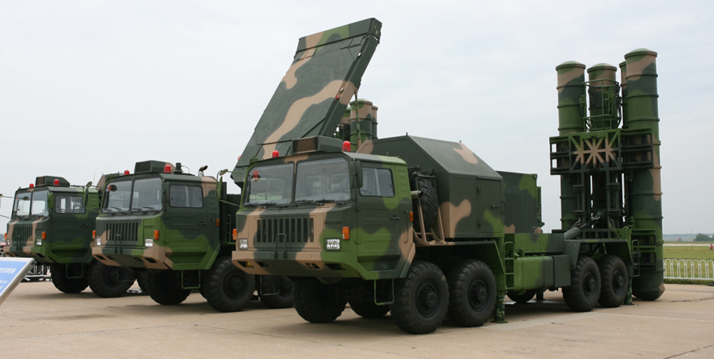 HQ-9 LR-SAM & HT-233 passive phased-array radar