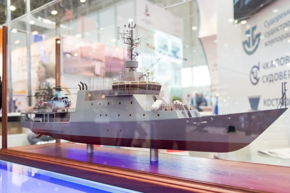Морское специальное судно проекта 14400 1