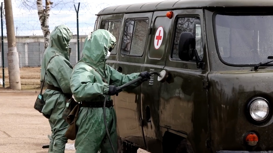 Министерство обороны России создает группировки для борьбы с коронавирусом