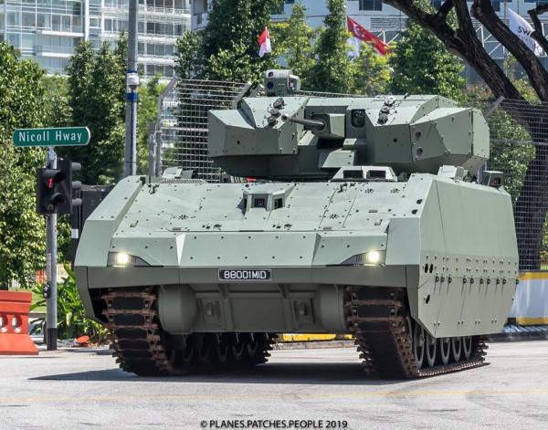 Сингапурская армия заказала вторую партию боевых машин пехоты Hunter