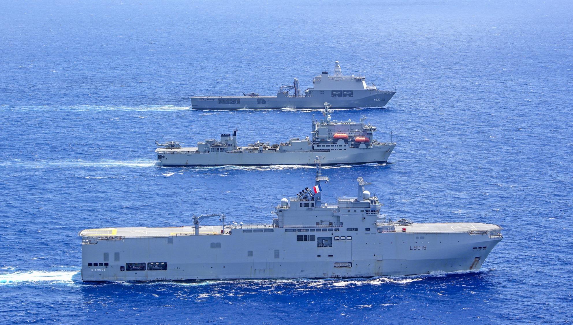 Европейские десантные корабли в едином строю 97252984_3049792218399816_2943169916322185216_o