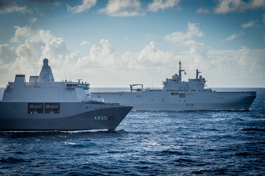 Европейские десантные корабли в едином строю 98063210_3049439578435080_7679106422340059136_o