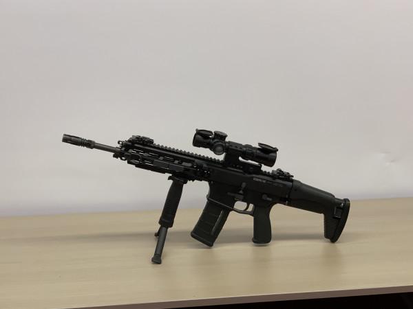 Презентация новой автоматической винтовки типа 20 и пистолета для Сил самообороны Японии