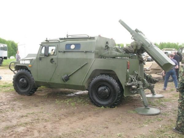 Испытания опытного образца 120-мм самоходного миномета МЗ-204