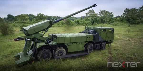 Чехия приобретет 52 французские самоходные гаубицы CAESAR