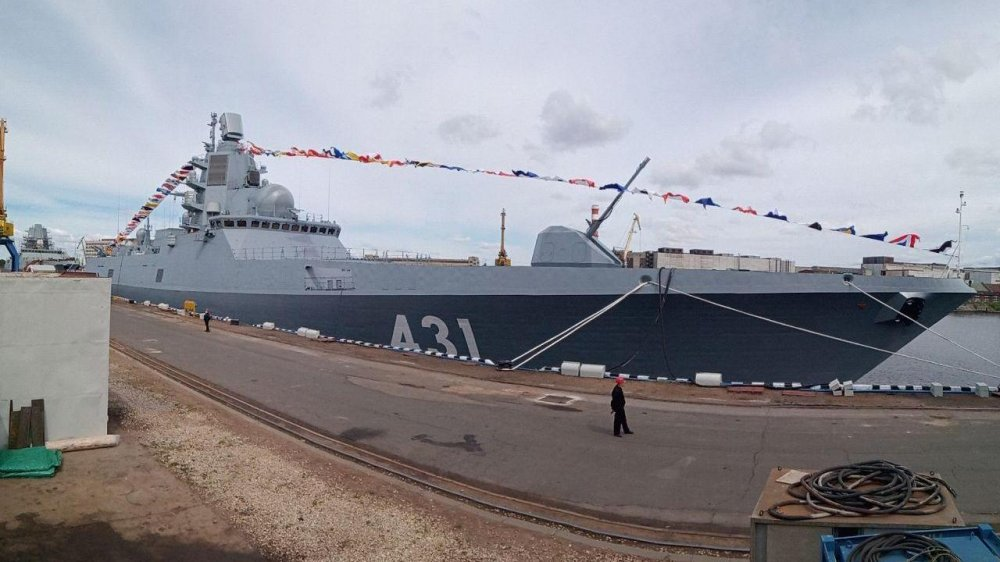 Фрегат Адмирал флота Касатонов Северная верфь 2