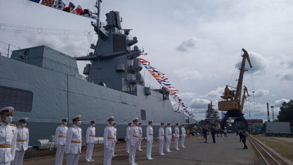 Фрегат Адмирал флота Касатонов Северная верфь 4