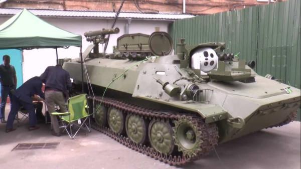 Украинская модернизация самоходного противотанкового ракетного комплекса «Штурм-С»