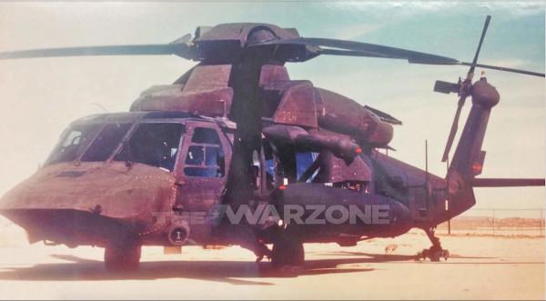 Малозаметный вариант вертолета UH-60 Black Hawk