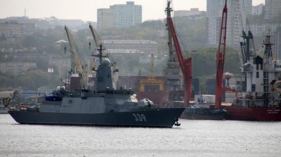 Корвет Герой Российской Федерации Алдар Цыденжапов