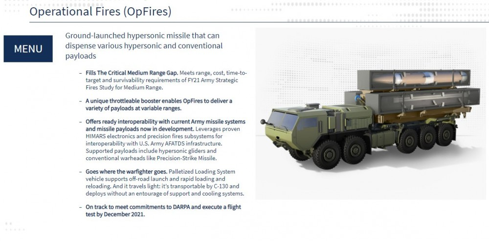 Раскрыты характеристики американской гиперзвуковой ракеты AGM-183A ARRW 3777983_1000