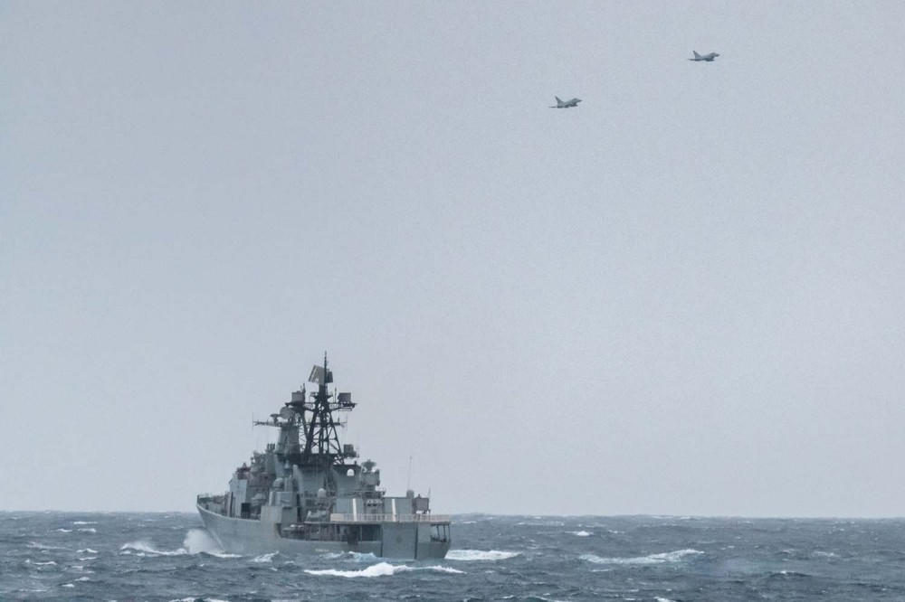 RAF Typhoon jets fly overhead as HMS Northumberland monitors Vice-Admiral Kulakov1