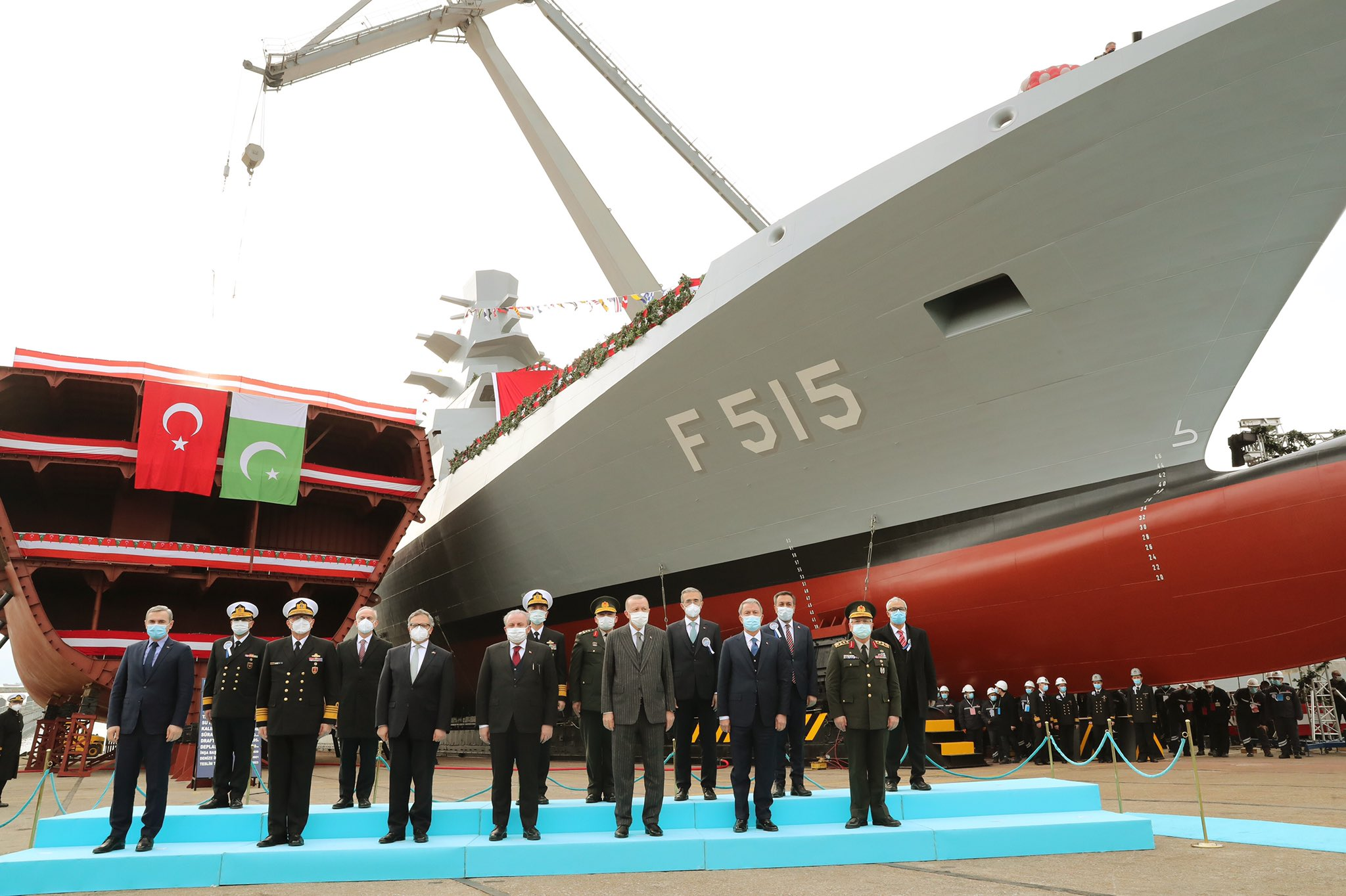 Turkey-launches-the-lead-ship-of-I-class-frigates-Istanbul