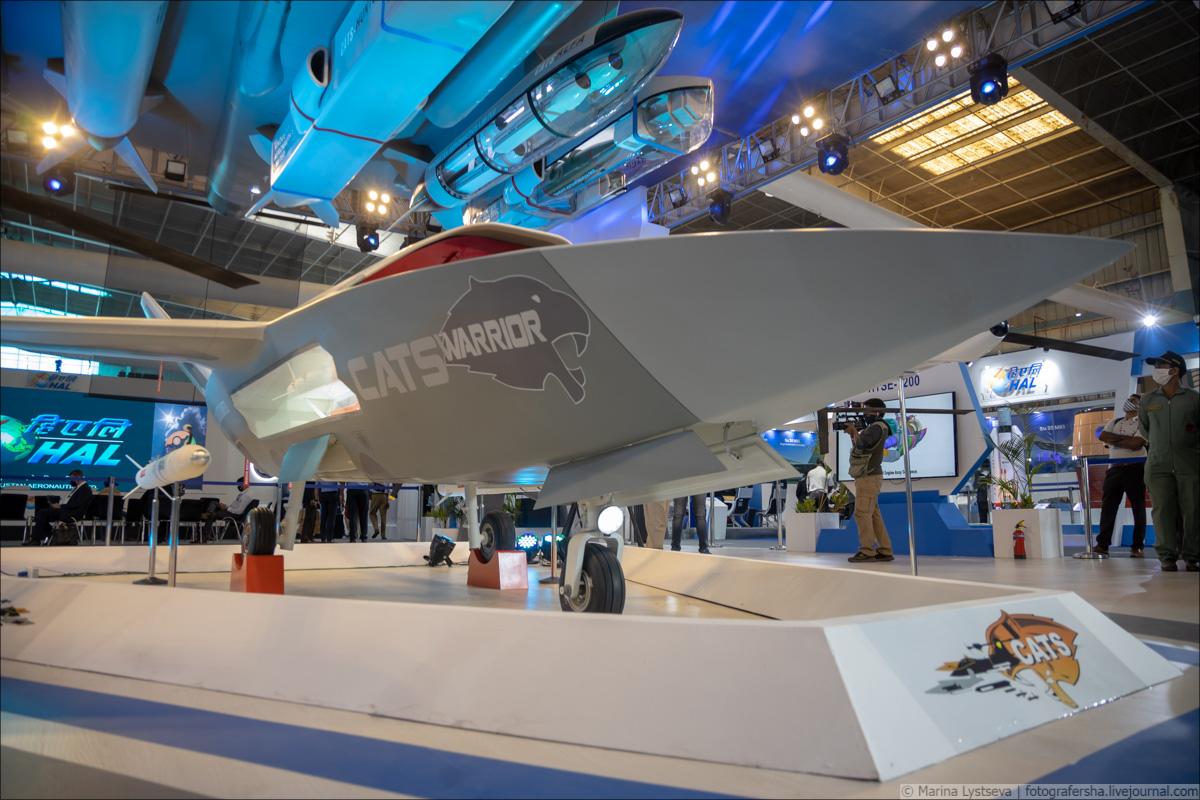 Перспективный индийский беспилотный летательный аппарат Warrior 6Y9A3993