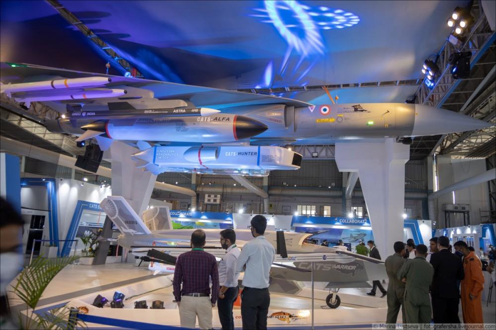 Перспективный индийский беспилотный летательный аппарат Warrior 6Y9A4113