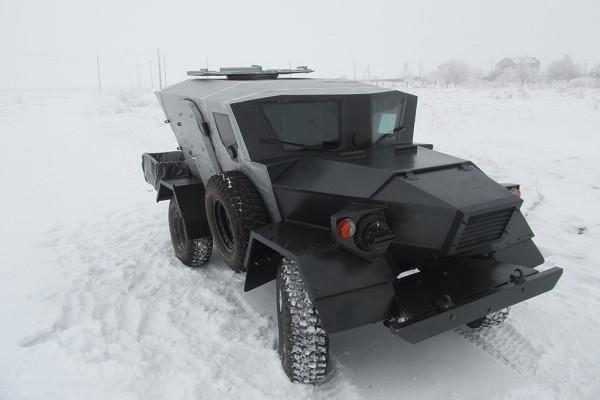 Легкий сверхкомпактный бронеавтомобиль «Ласок 4-П»