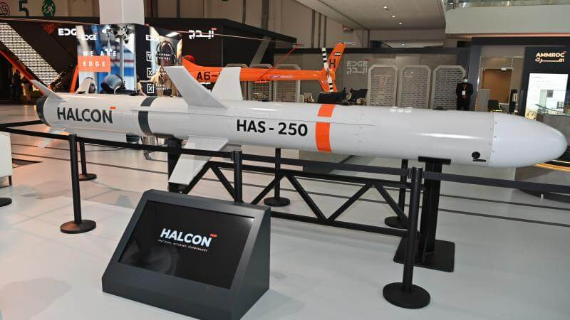 HAS-250 is a UAE-designed and developed surface-to-surface cruise missile