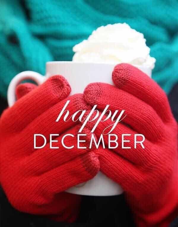 Привет декабрь фото