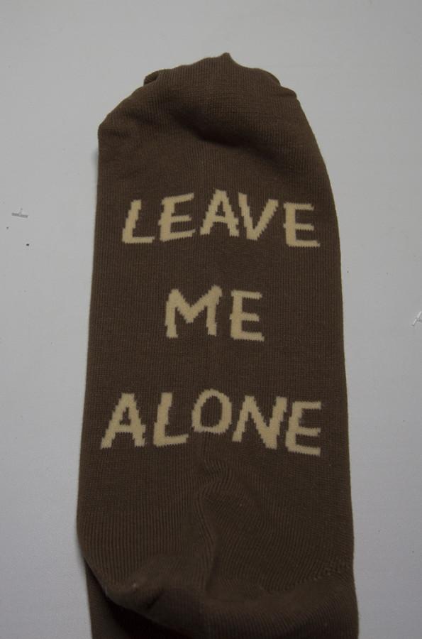носки leave me alone