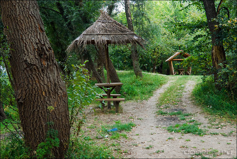 Оборудованное место отдыха