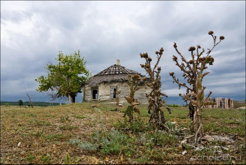 Старинный курень в Пузанах