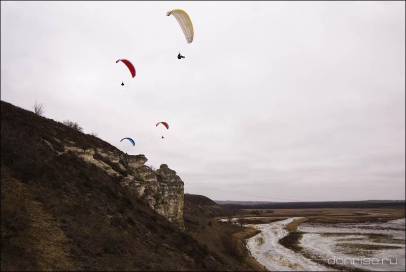 Полёты над лысогорскими дивами