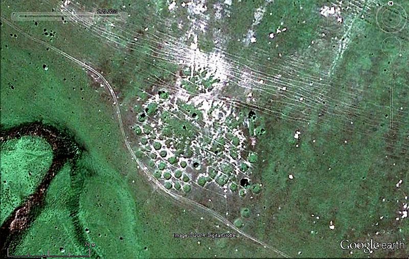 Спутниковый снимок Google