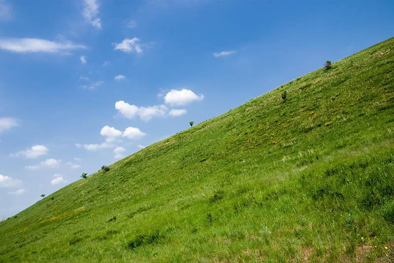 Склон холма