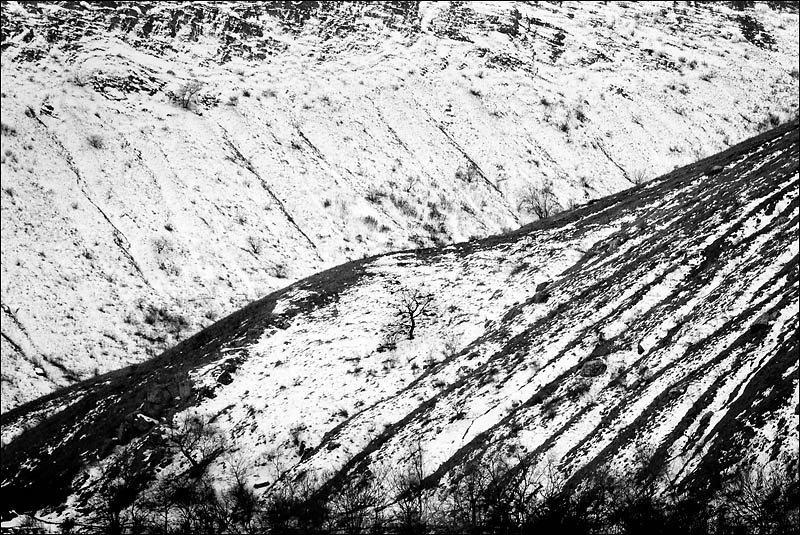 Зима в донских горах