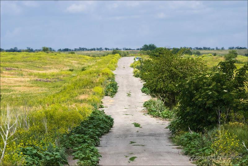 Дорога в хутор Дубовой