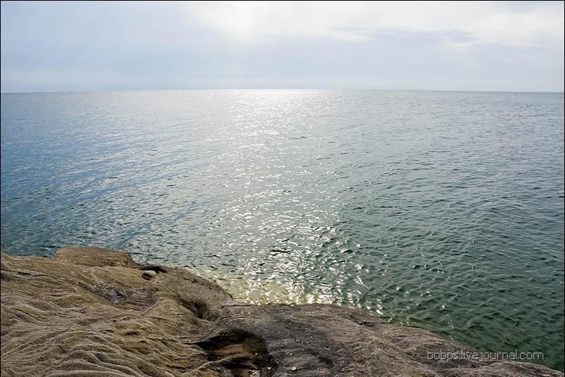 Берег Цимлянского водохранилища