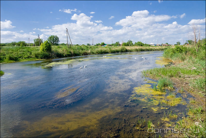 Река Глубокая у хутора Астахов