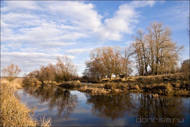 Река Ольховая у Нижнемакеевского