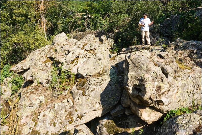 Каменный Лес, нижний завал