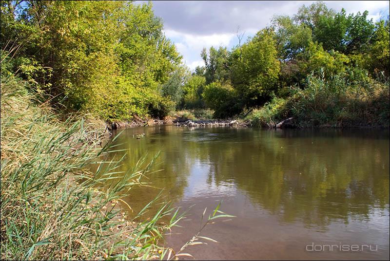 Река Крынка у села Александровка