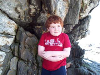 Sebastian at Pemaquid Point, ME