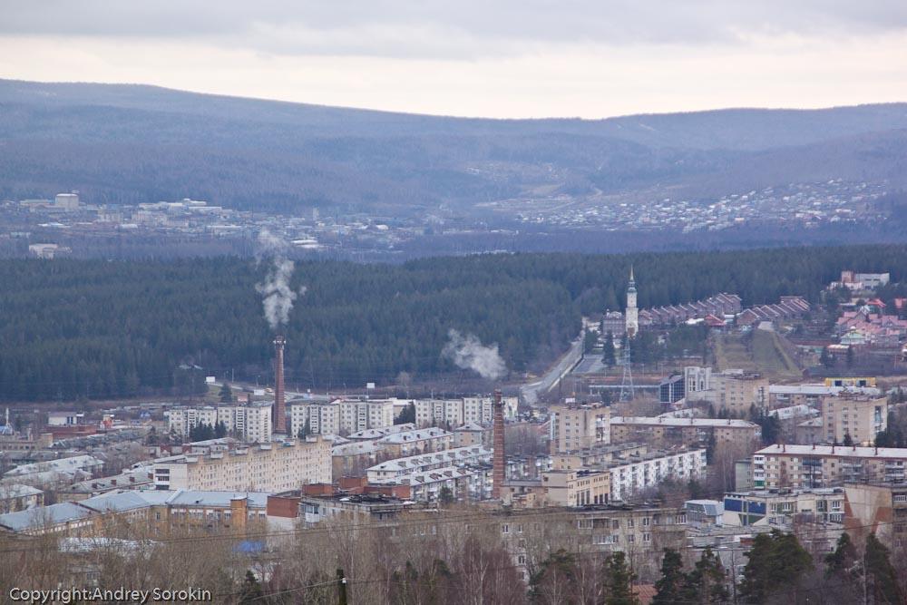 Златоуст, район просп. Гагарина