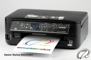 МФУ Epson Stylus SX535WD