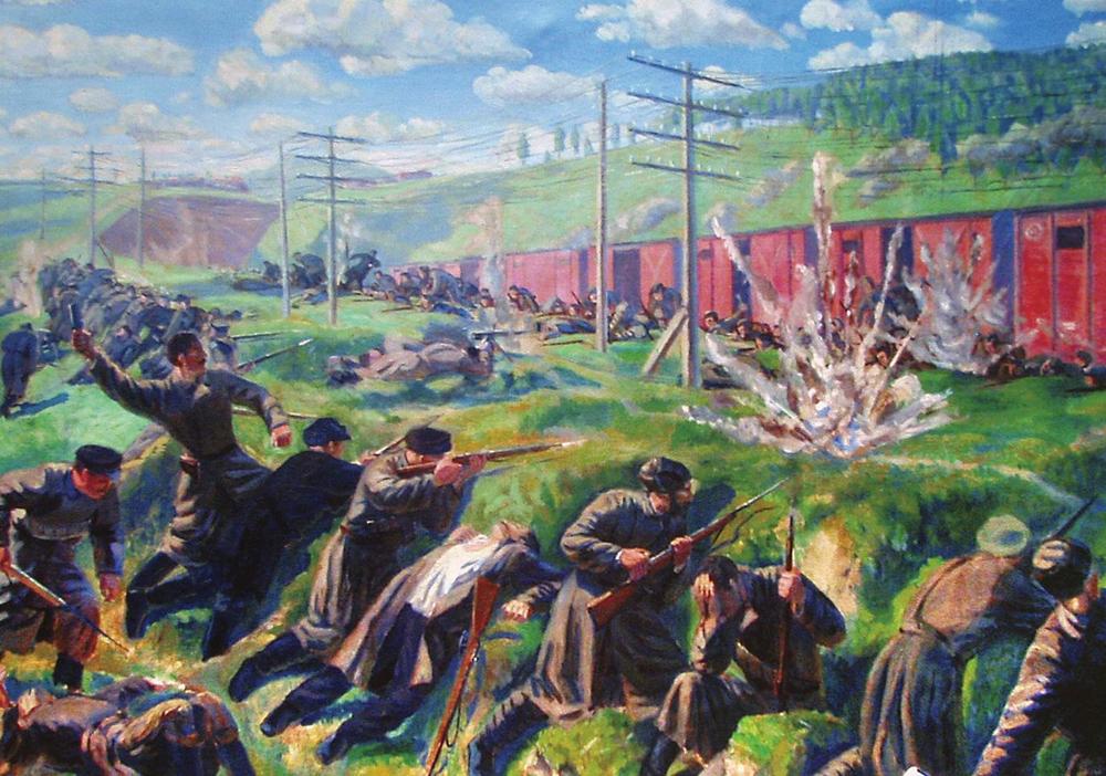 Бой с белочешскими легионерами