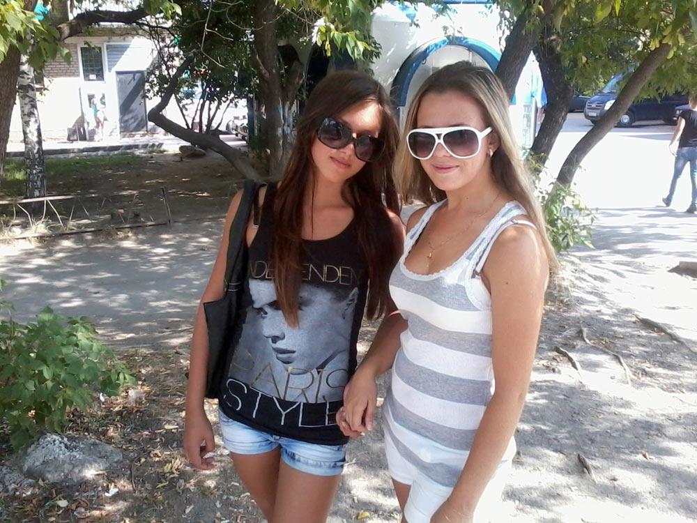 Ирина с подругой